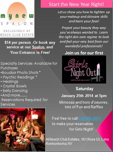 My New Spalon - Girls Night Out Event