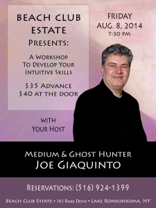 Psychic Development With Joe Giaquinto